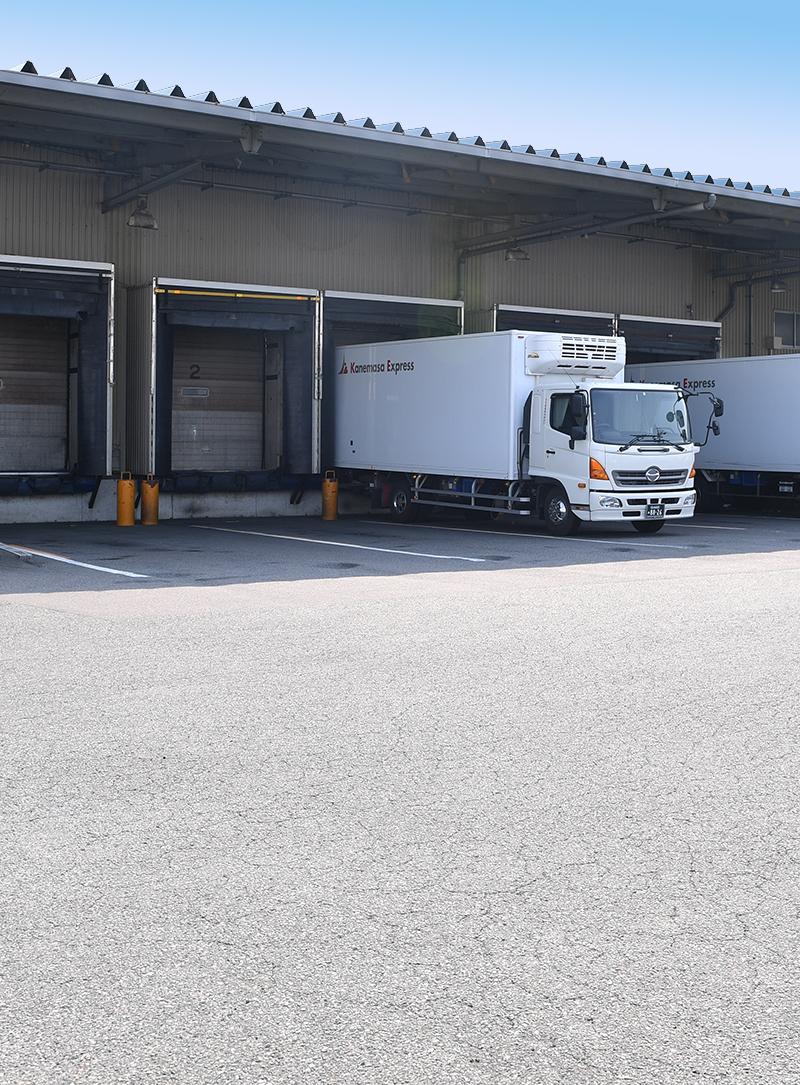 倉庫|カネ政運輸有限会社|低温・中温・一般配送|愛知県小牧市